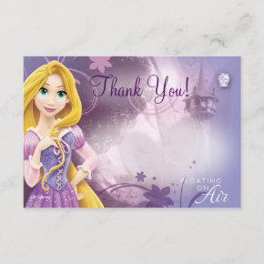 Rapunzel Thank You Invitations