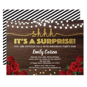 red rose birthday invitations candied clouds