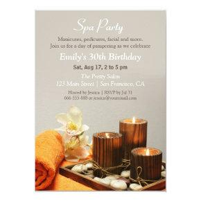 Relaxing Spa Birthday Party