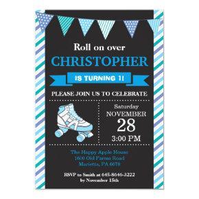 Roller Skating Birthday Invitation Birthday Party