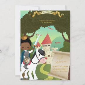 Royal Birthday Invitation