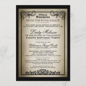 Royal Gala Birthday Party