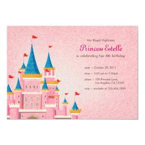 Royal Princess Birthday Invitation Invitations Candied Clouds