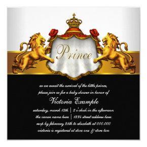 RoyalPrince Baby Shower Card