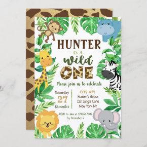 Safari Jungle Animals Birthday