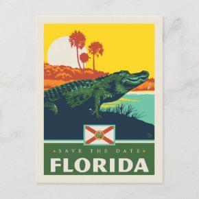 Save the Date | Florida Invitation Post