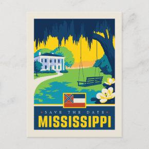 Save the Date | Mississippi Invitation Post