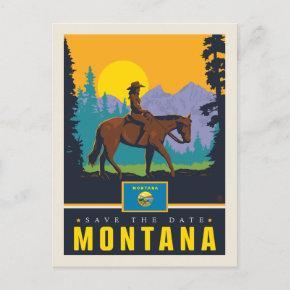 Save the Date | Montana Invitation Post