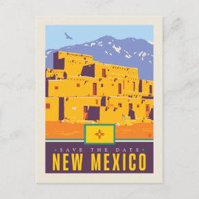 Save the Date | New Mexico Invitation Post