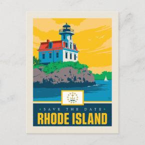 Save the Date | Rhode Island Invitation Post