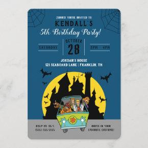 Scooby-Doo Spooktacular Halloween Birthday Invitation