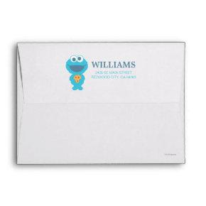 Sesame Street | Baby Cookie Monster Envelope