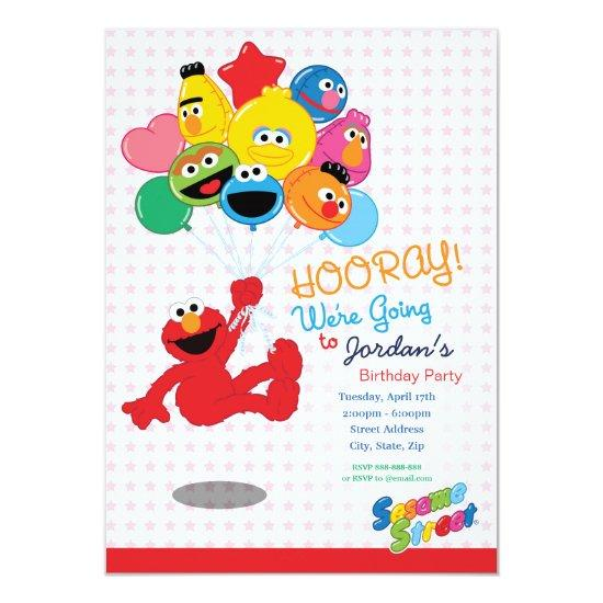 Sesame Street | Elmo and Pals - Birthday Balloons