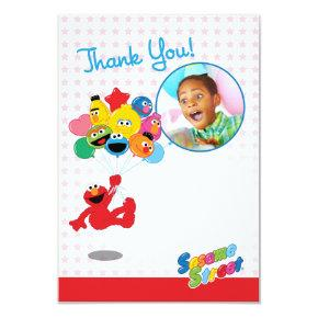 Sesame Street | Elmo and Pals - Birthday Balloons Card