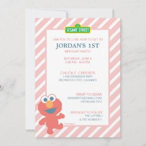 Sesame Street | Elmo - Baby Birthday Invitation