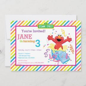 Sesame Street | Elmo Girl's Birthday Invitation