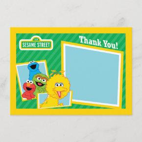 Sesame Street Pals Thank You