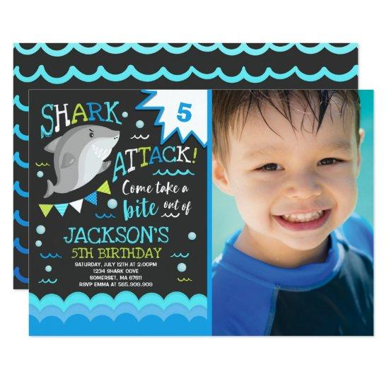shark birthday invitations shark pool party candied clouds
