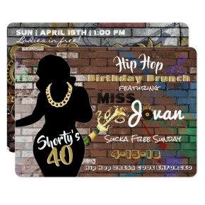 Shorty's 40 Hip Hop Birthday  {}