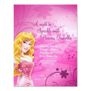 Sleeping Beauty Birthday Invitations
