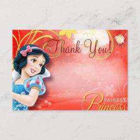 Snow White Thank You Invitations