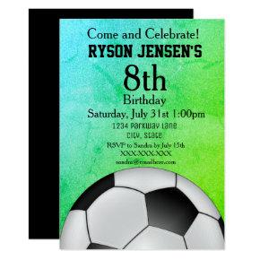 Soccer Themed Sports Kids Birthday