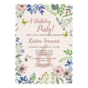 Soft Floral Invitation