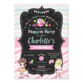 Spa Pamper Party Birthday  Girls