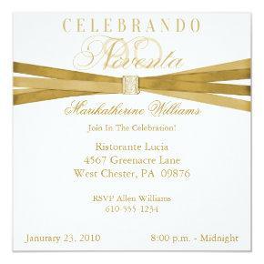 Spanish Elegant 90th Birthday Party
