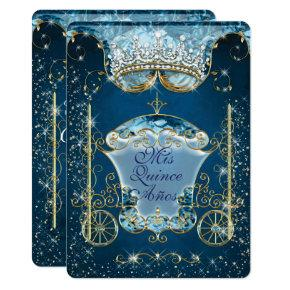 Sparkling Cinderella Style Party Invitations