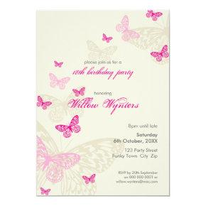 SPECIAL EVENT INVITES :: butterflies 4P