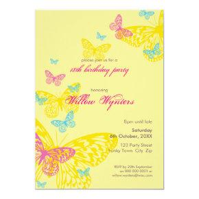 SPECIAL EVENT INVITES :: butterflies 6P