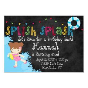 Splish Splash Party Invite