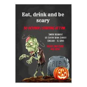 Spooktacular night invitation