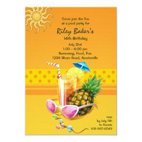 Summer Bliss Invitations