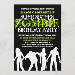 Super 16 Zombie Party