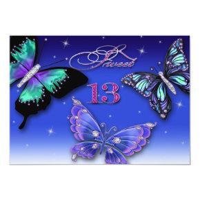 SWEET 13TH BIRTHDAY PARTY INVITATIONS