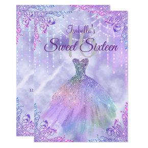 Sweet 16 Ideen.Pearl Party Birthday Invitations Candied Clouds