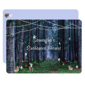Sweet Sixteen, Enchanted Forest, Fairies, Custom Invitation