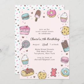 Sweet Treats Invitation