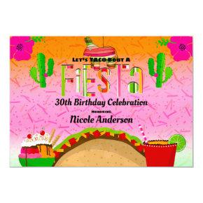 taco birthday invitations candied clouds