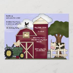 The Barn Invitation