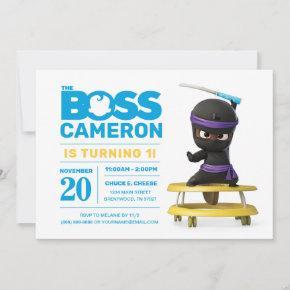 The Boss Baby | Ninja Birthday Invitation