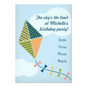 The Sky's the Limit! Party Invitation