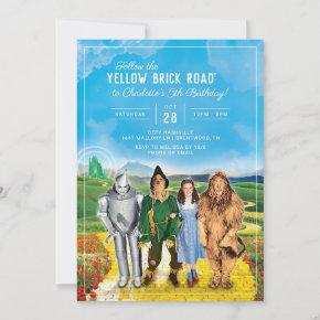 The Wizard of Oz Birthday Invitation