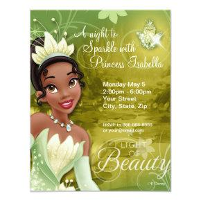 Tiana Birthday Invitations
