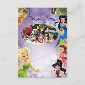 Tinker Bell 2 Birthday Thank You Invitations