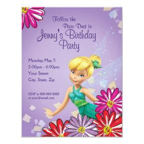 Tinker Bell Birthday Invitation