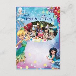 Tinker Bell Birthday Thank You Invitations