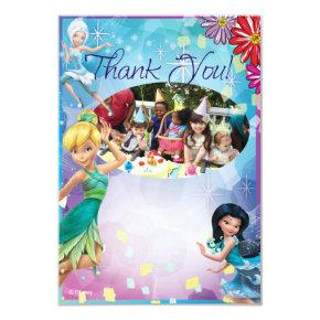Tinker Bell Birthday Thank You Cards